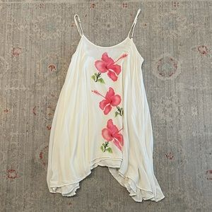 Wildfox floral tank top size small